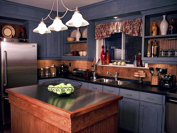 Традиционный кухонный остров
