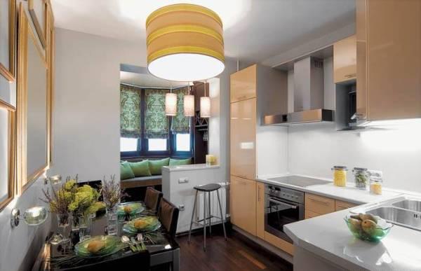 Как из большой кухни сделать еще и гостиную 560
