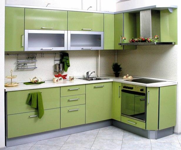 Какой цвет кухни выбрать для маленькой