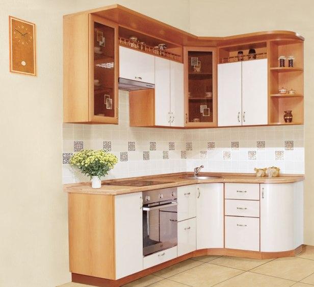 мебель для небольшой кухни фото