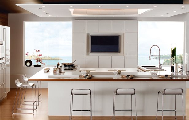 Кухня 20 кв м дизайн
